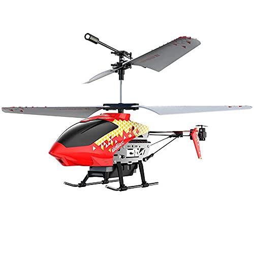 LINXIANG Elicottero a 3,5 canaliElicotteri RC hobbyAeroplano telecomandato, con giroscopio LED Luce radiocomando Ricarica per Aereo Elettrico Drone Principiante Ragazzi Ragazze Regali