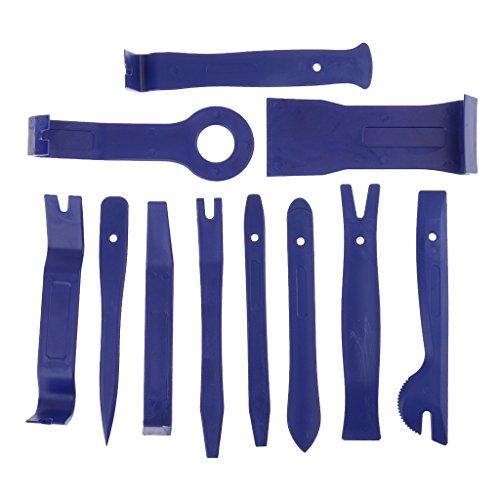 Shiwaki 11 Piezas De Cables De Audio Del Coche Kit De Palanca Guarnecido De Puerta De - Azul