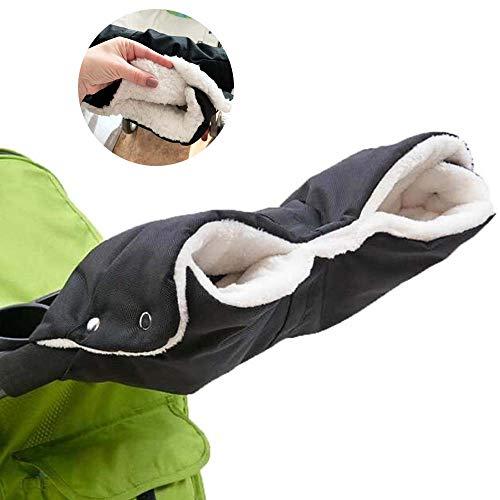 Aolex Handwärmer Kinderwagen, Kinderwagen Handschuhe Handmuff mit Fleece Innenseite