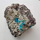 ZZLLFF 150-600 g Natural Raro (Silicio de Agua Vanadio Vanadio Calcio) Piedra de Espécimen Mineral y Cuarzo de Cristal (Size : 150 200g)