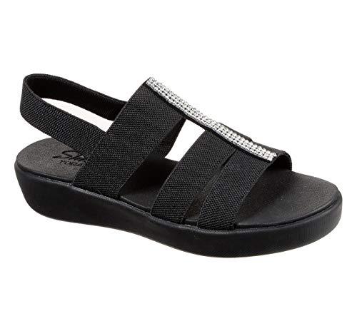 Skechers Cali Light Star Fun Day Sandalen/Fashion-Sandalen Women Schwarz, Schuhgröße:38 EU