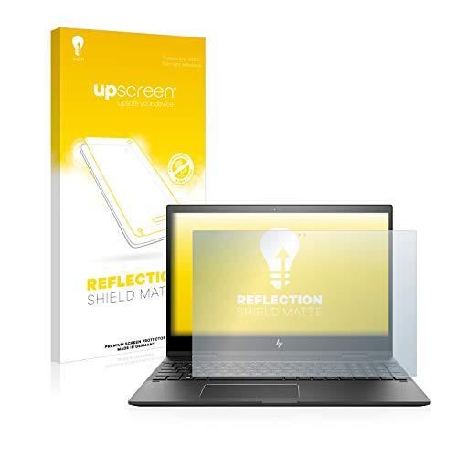 upscreen Entspiegelungs-Schutzfolie kompatibel mit HP Envy x360 15-cn0008ng – Anti-Reflex Displayschutz-Folie Matt
