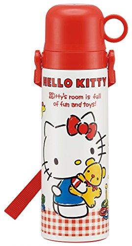 Patinador Inoxidable con una Botella de Agua de la Taza 550ml para niños Hello Kitty de Sanrio