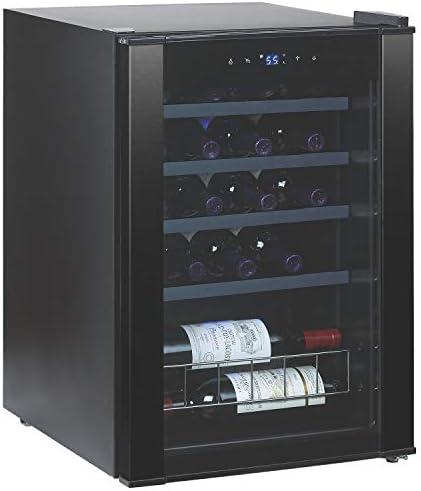 20 Bottle Evolution Series Wine Refrigerator Black Stainless Steel Trim product image