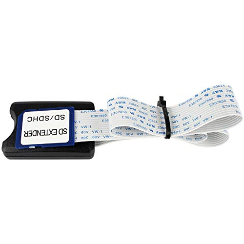 BCZAMD - Cable Adaptador para Tarjetas SD (48 cm, para Impresora 3D, Raspberry Pi, GPS, TV)