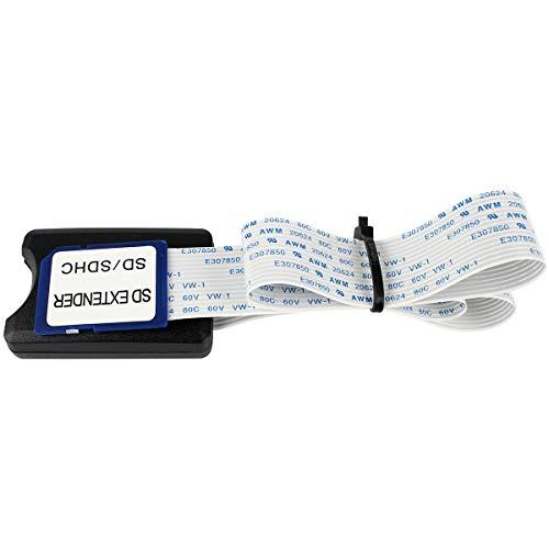 BCZAMD 48cm SD Karten Verl?ngerungskabel SD SDHC Karte zu SD-Karten Extender Adapterkabel f¨¹r 3D-Drucker/Raspberry Pi/GPS/TV ¡