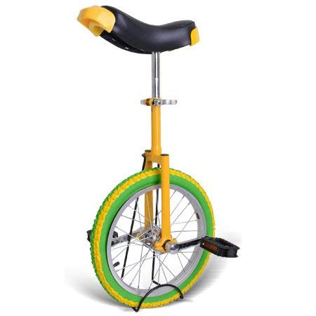 Great Price! Gorilla Unicycles- Lemon 16 Inch Wheel Unicycle