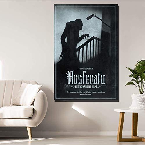NOVELOVE Nosferatu Horrorfilm Wandkunst Poster Drucken Dekoration Bild Für Wohnzimmer Dekor Geschenk Ohne Rahmen 40 * 60 cm