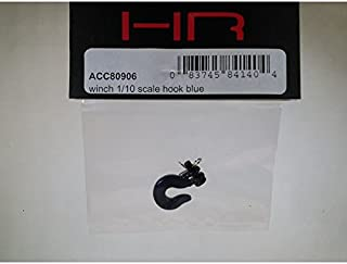 Hot Racing ACC80906 Aluminum Winch 1/10 Scale Hook (Blue)
