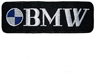 BMW Embroidered Iron on Patch ,Sew On Car Logo Clothes Clothing Motorcycle