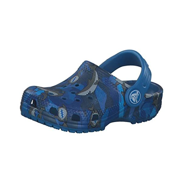 Crocs Kids Classic Graphic Clog | Slip on Toddlers | Water Shoes