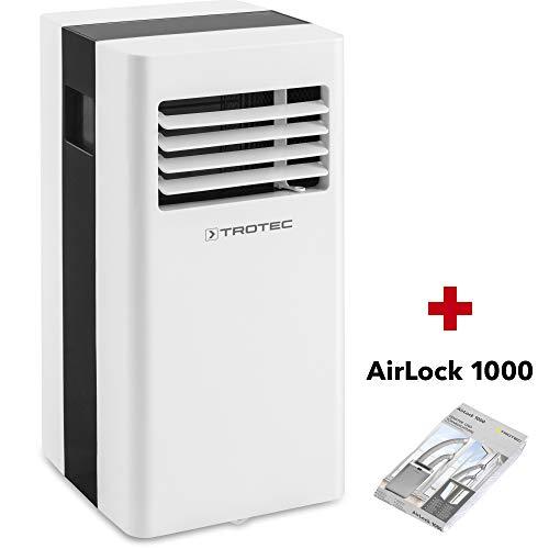 TROTEC Lokales Klimagerät PAC 2100 X mobile 2 kW Klimaanlage 3-in-1-Klimagerät + Airlock 1000