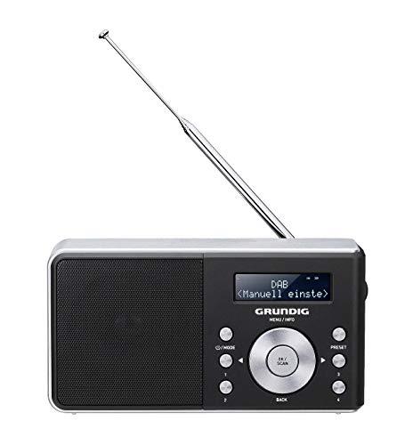Grundig Music 6000 Dab+ Personal Digital Negro - Radio (Personal, Digital, Dab,Dab+,FM, LCD, Negro, Monótono)