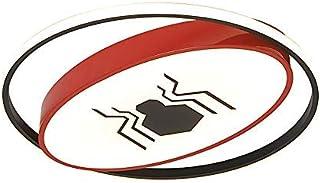 Szlight Superhero Lampara Techo para Niños Moderna Dormitorio Luz De Techo Habitación Niño Led Lámpara De Techo Lámparas De Interior Iluminación Decoraciones (40CM,Spiderman)