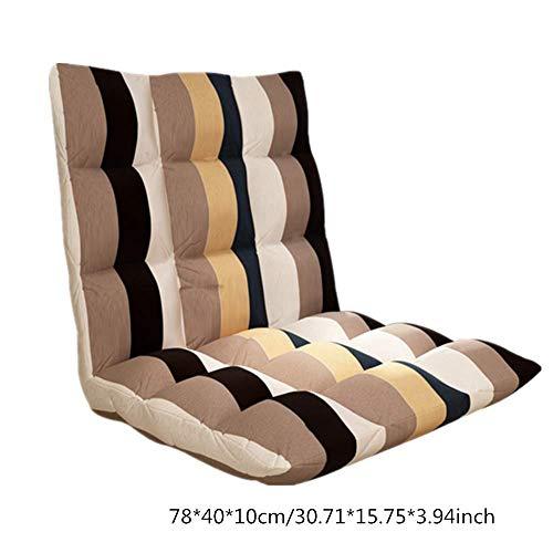lijunjp Klappsofa, Verstellbarer Boden Gaming Sofa Stuhl, Moderne Wohnzimmermöbel Lazy Recliner, ideal für Kinder Spielen, lesen, färben, Spielen