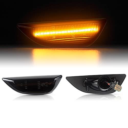 LED SEITENBLINKER passend für OPEL Mokka | Mokka X | Chevrolet TRAX | ab 2012 | SCHWARZ