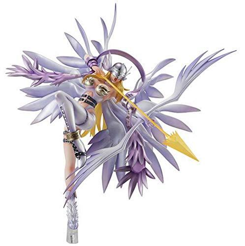 Yzoncd Anime Digimon Fighting Girl Monster Adventure Angewomon Figura De Accion Modelo Juguetes Muneca 24Cm