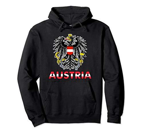 Österreich Adler - Österreichischer Bundesadler - Austria Pullover Hoodie
