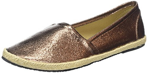 Buffalo Shoes Damen 327423 LH-129 Espadrilles, Braun (Bronze), 37 EU