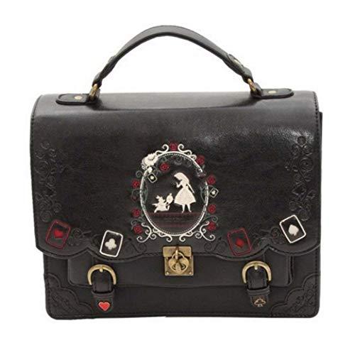 Women Backpack Vintage Messenger Bag School Backpack Shoulder Bags for Girls Bag in Wonderland Back Pack
