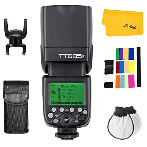 Godox TT685F HSS TTL GN60 Blitzgerät Kompatibel Speedlite für Fujifilm Kamera Fuji X-T2 X-T1 X-T1 X-T1 X-Pro1 X100F