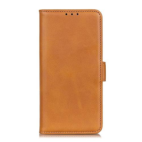 ケース 対応機種「 Redmi Note 10 Pro 」 [KAIDON] [モデル番号: C5-008] 良質PUレザー マグネット開閉 カード収納 手帳型ケース カバー (イエロー)