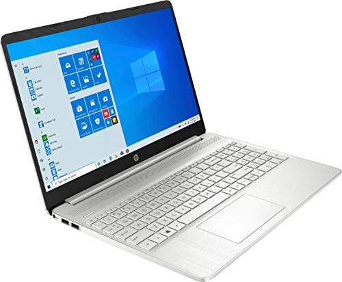 Product Image 5: 2020 HP 15.6″ Touchscreen Laptop Computer/ 10th Gen Intel Quard-Core i5 1035G1 up to 3.6GHz/ 12GB DDR4 RAM/ 256GB PCIe SSD/ 802.11ac WiFi/ Bluetooth 4.2/ USB 3.1 Type-C/ HDMI/ Silver/ Windows 10 Home