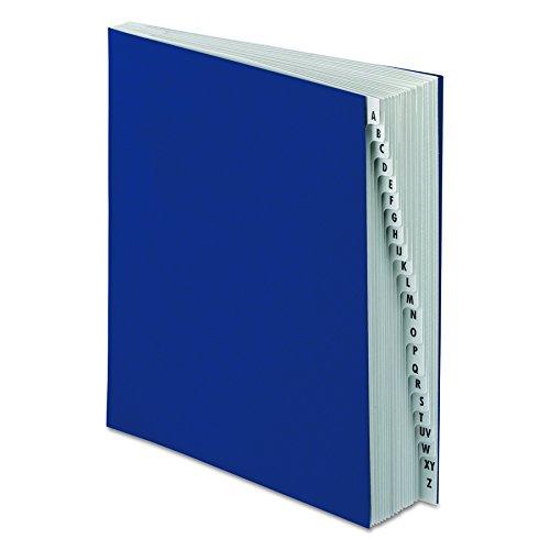 Pendaflex DDF3OX Expanding Desk File, A-Z, Letter Size, Acrylic-Coated Pressboard, Dark Blue Mississippi