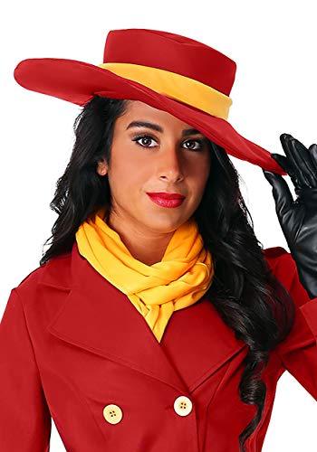 Fun Costumes Carmen Sandiego Hat Standard Red