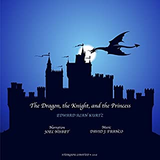 The Dragon, the Knight, and the Princess audiobook cover art