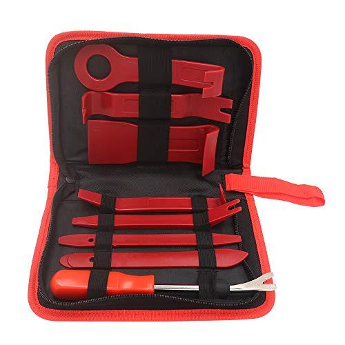 QLOUNI Car Autofolien T/önungsfolie Lackschutzfolie Set Vinyl Wraps Tool Micro Rakel Filzrakel Folienschneider Magnethalter Arbeitshandschuhe 9mm Cuttermesser mit 50 St/ück Abbrechklingen