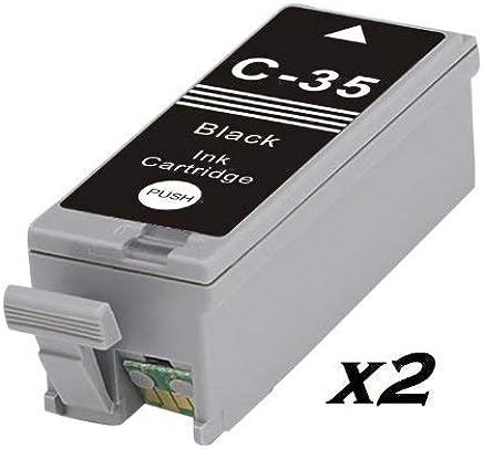 2X Compatible Canon PGI-35 Black Ink CARTRIDGES for PIXMA IP100, IP110, Mini 260,320. PGI-35BK & CLI-36C