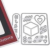 Troqueles Scrapbooking Troqueles para hacer tarjetas - 5 piezas con motivo de escorpión para...