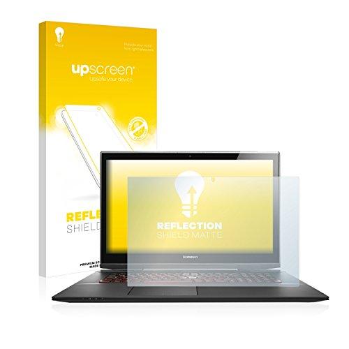 upscreen Entspiegelungs-Schutzfolie kompatibel mit Lenovo Y70-70 Touch – Anti-Reflex Bildschirmschutz-Folie Matt