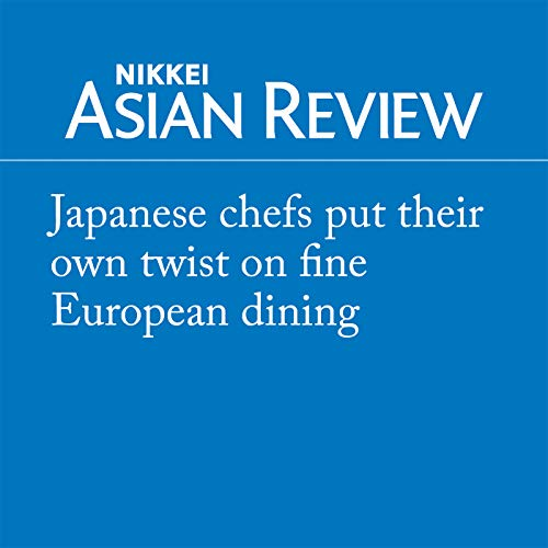 Japanese chefs put their own twist on fine European dining audiobook cover art
