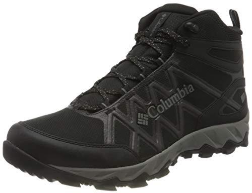 Columbia Peakfreak X2 Mid Outdry Hiking Boot, Zapatos de Senderismo, para Mujer, Black, Titanium II, 41.5
