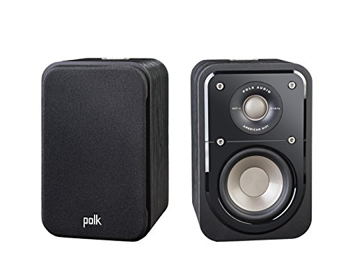 Polk Audio Signature Series S10 Bookshelf Speakers for Home Theater, Surround...