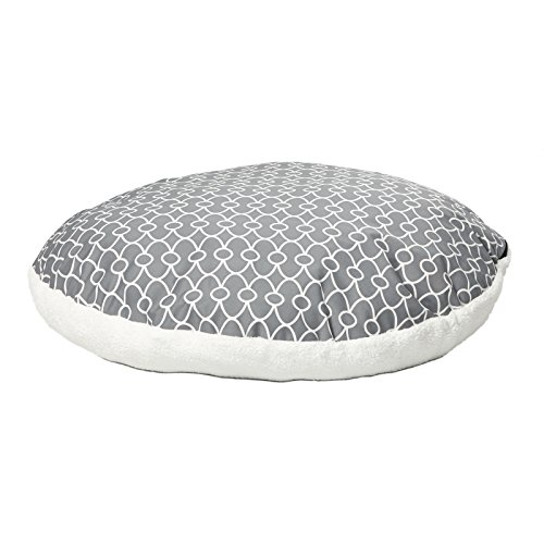 Dog Bed w/Removable Dog Bed Cover Featuring Teflon Fabric Protector