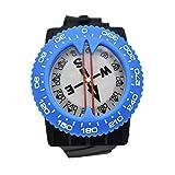 Scuba-Choice Diving Deluxe Wrist Compass, Blue