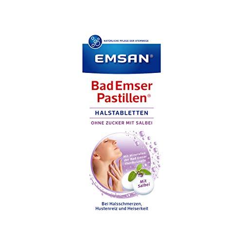 Emsan Bad Emser Pastillen mit Salbei, ohne Zucker, 30 Tabl.