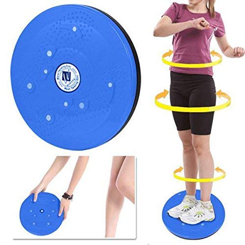 biggroup Twist Waist Disc Board Taille & Hüfte Twist Exercise Board Taille Twisting Disc für Fitness und Training, Blau