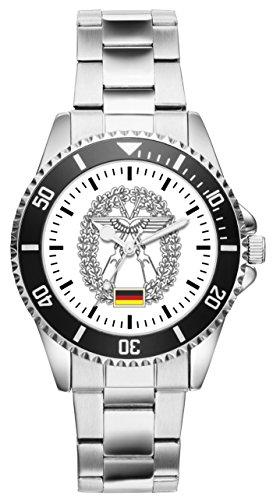 Soldat Geschenk Artikel Bundeswehr Objektschutz der Luftwaffe Uhr 1214