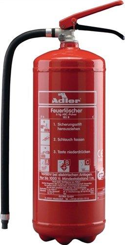 Feuerlöscher PD12G 12kg Brandkl.A/B/C m.Glutbrandpulver m.Wandhalter
