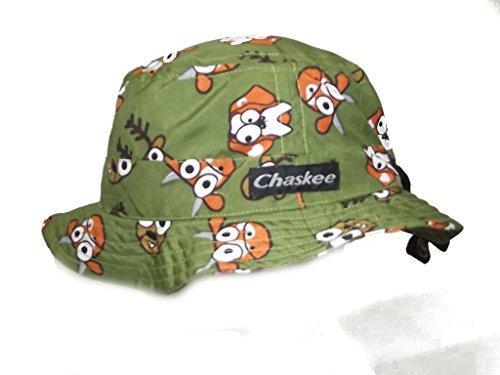 Chaskee Junior BOB Animal Vert Green 100% Microfibre