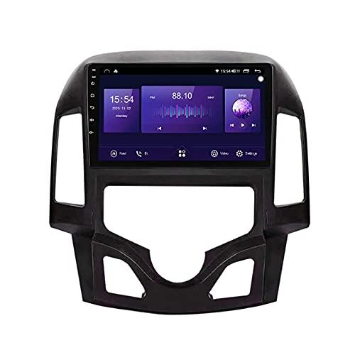 Navegación por satélite estéreo para automóvil adecuado para Hyundai I30 2007-2012, estéreo para automóvil, GPS para vehículo, táctil capacitivo, HD Carplay, Radio, sistema multimedia, rastreador