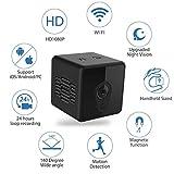 Mini Spy Camera WiFi, Jayol 1080P Spy Hidden Camera Upgraded Night Vision