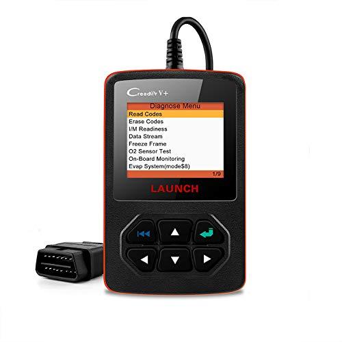 Wooya Starten Sie X431 Creader V + Obd2 OBD-Autodiagnosescanner-Tool Automotive Error Code Reader Mit Mehrsprachigem Kostenlosem Online-Upgrade