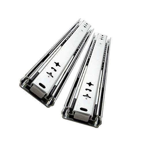 AOLISHENG 1 Paar (2 Stück)Schwerlast schubladenschienen vollauszug 900 mm 80 Kg Tragkraft Schubladenschiene Schwerlast Teleskopschiene