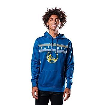 Ultra Game NBA Golden State Warriors Mens Fleece Midtown Pullover Sweatshirt Team Color XX-Large