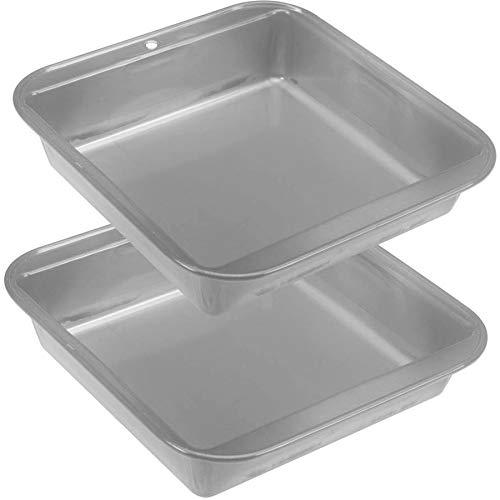 OKSLO 9 sq. cake pans non-stick, set of two Model (18190-24087-17717-19722)